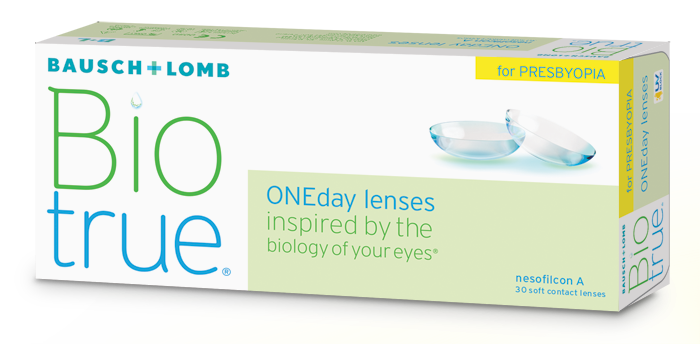 Bio True one day for Presbyopia