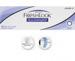 Dailies Freshlook Illuminate 30 pack