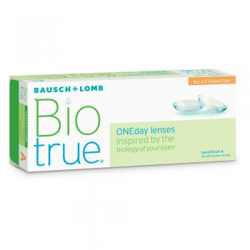 Bio True One Day for Astigmatism 30 pk