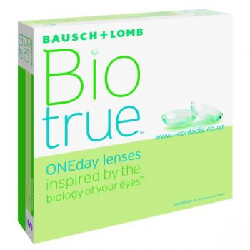 Bio True one day lenses 90 pack