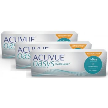1 Day Acuvue OASYS for Astigmatism- 90 pack