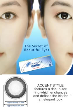 1 Day Acuvue DEFINE ACCENT STYLE - 30 pack