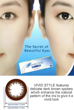 1 Day Acuvue DEFINE VIVID STYLE - 30 pack