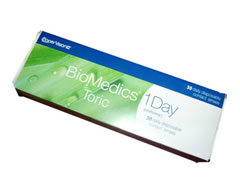 Biomedics 1 Day Extra Toric - 30 pack
