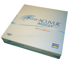 1 Day Acuvue MOIST - 90 pack