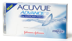 Acuvue Advance for Astigmatism - DISCONTINUED