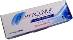1 Day Acuvue for Astigmatism - 30 pack - DISCONTINUED
