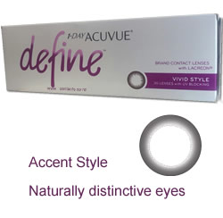 1 Day Acuvue DEFINE ACCENT STYLE