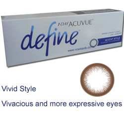 1 Day Acuvue DEFINE VIVID STYLE