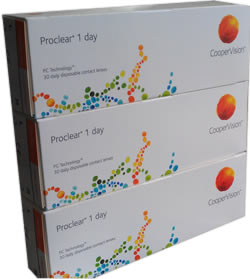 Proclear 1 Day - 90 pack